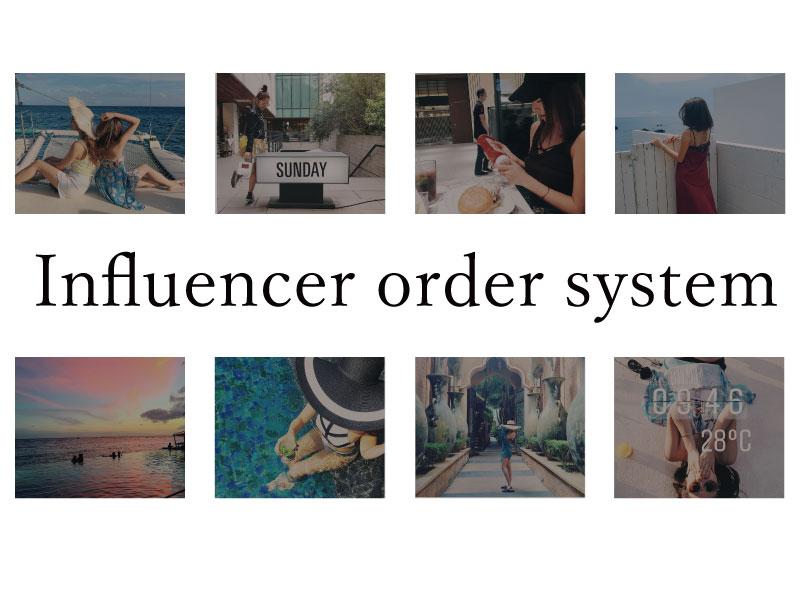 インフルエンサープランニングシステム